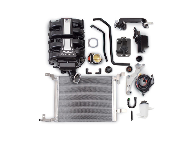 Компрессор Edelbrock E-Force Supercharger (Stage 3 - Pro-Tuner Systems) для Ford Mustang GT 4.6L (2010)