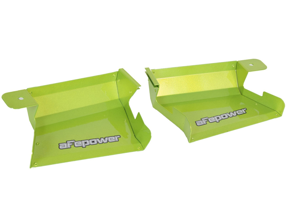 Воздухозаборники aFe Magnum FORCE (Neon Green) Dynamic Air Scoops для BMW 3-Series/M3 (E90/E91/E92/E93) 2007-13