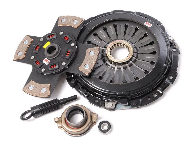 Сцепление Competition Clutch Stage 5 Ceramic демпферный 4-х лепестковый керамический диск - Strip Series 1420 Mitsubishi Eclipse (1990-1992, 1995-1999, 2001-2003), Mitsubishi 3000gt (1993-1999), Dodge Stealth (1991-1994), Plymouth Laser (1990-1994)