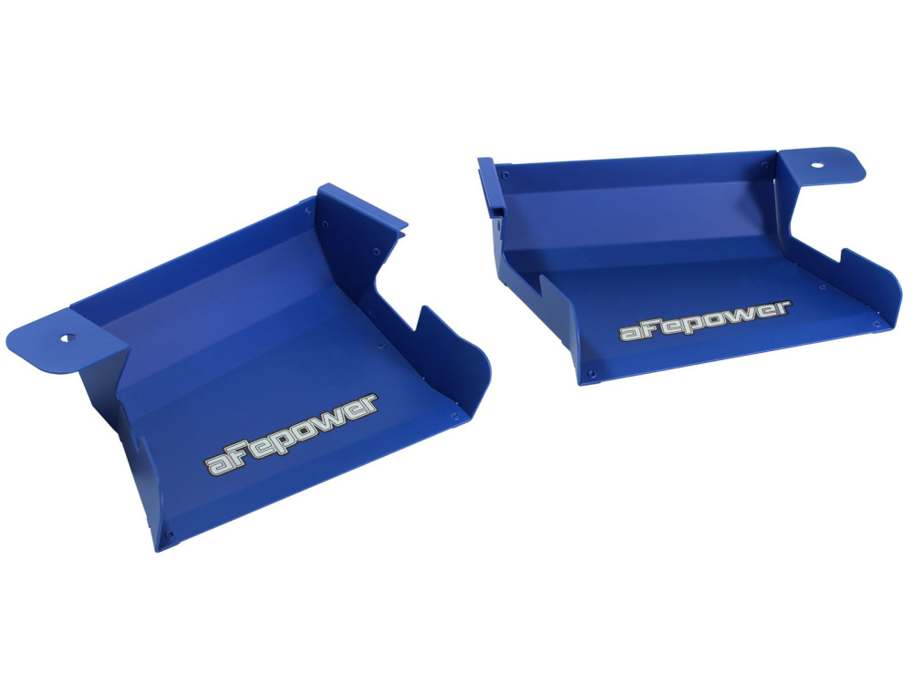 Воздухозаборники aFe Magnum FORCE (Matte Blue) Dynamic Air Scoops для BMW 3-Series/M3 (E90/E91/E92/E93) 2007-13