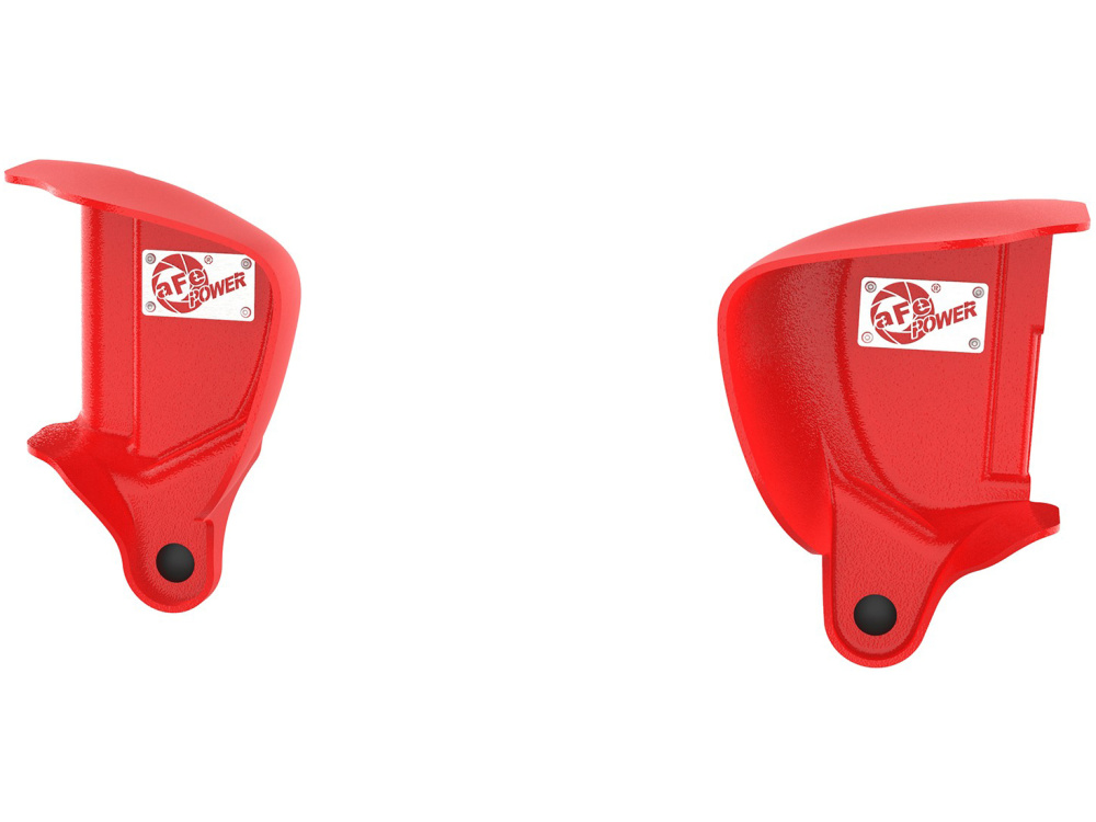 Воздухозаборники aFe Magnum FORCE (Red) Dynamic Air Scoops для BMW M3/M4 (F80/F82) L6-3.0L (S55)