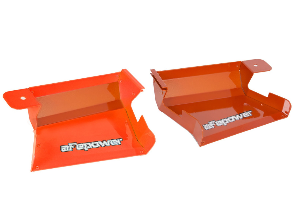 Воздухозаборники aFe Magnum FORCE (Orange) Dynamic Air Scoops для BMW 3-Series/M3 (E90/E91/E92/E93) 2007-13