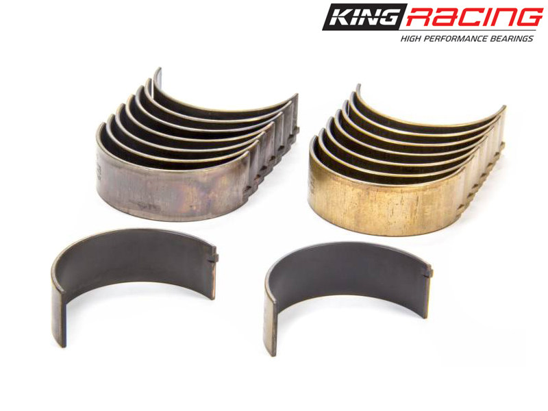Шатунные вкладыши King Racing XP Series Tri-Metal (STD / номинал) Nissan Sunny/Pulsar GTi-R (SR20DE/DET) 2.0L CR4587XP-STD (ширина 19мм)