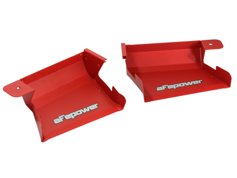 Воздухозаборники aFe Magnum FORCE (Matte Red) Dynamic Air Scoops для BMW 3-Series/M3 (E90/E91/E92/E93) 2007-13