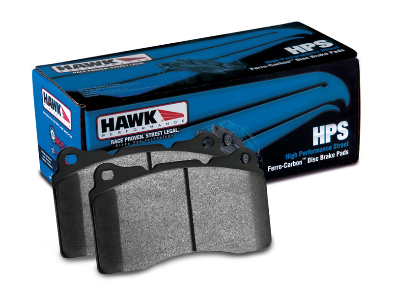 Тормозные колодки Hawk Performance HPS BMW 330/M3 (E46), X3 (E83), Z4, Z4 M Перед HB464F.764