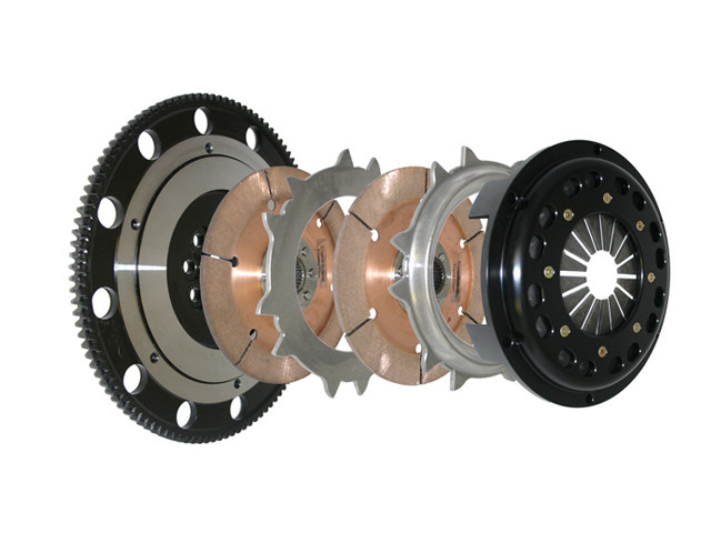 Усиленное двухдисковое сцепление Competition Clutch 184mm Rigid Twin Nissan 200SX Turbo (1994-2001), Pulsar (1991-96), Silvia (1995-2000), SR20DET Trans (1989-98)