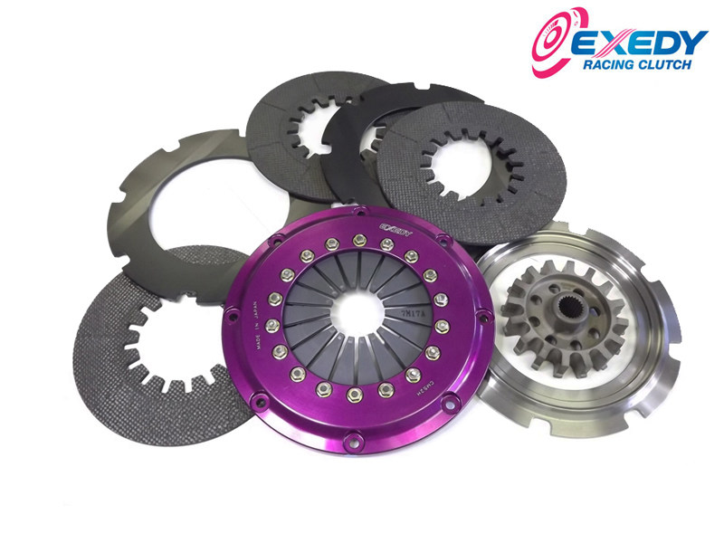 Сцепление Exedy Racing - Stage 5 Triple Carbon Clutch Kit Subaru WRX 2.0L (2002-05) FM013SBMC1