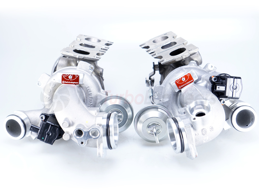 Турбокомпрессоры (турбины) TTE5XX Turbo Upgrade для Mercedes-Benz 43 AMG 3.0L V6 Twin Turbo (M276 DE30 LA) TTE10362