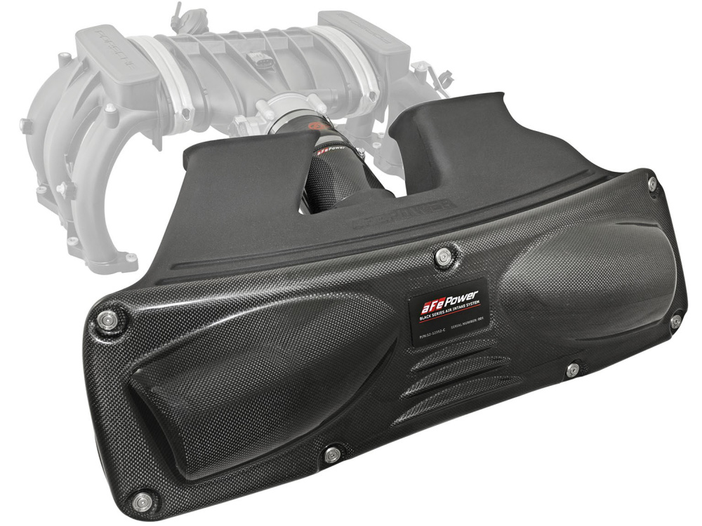 Впускная система aFe Power Black Series (Carbon Fiber) Cold Air Intake для Porsche 911 (991) Carrera/S/4/4S H6-3.4L/3.8L (2012-15)