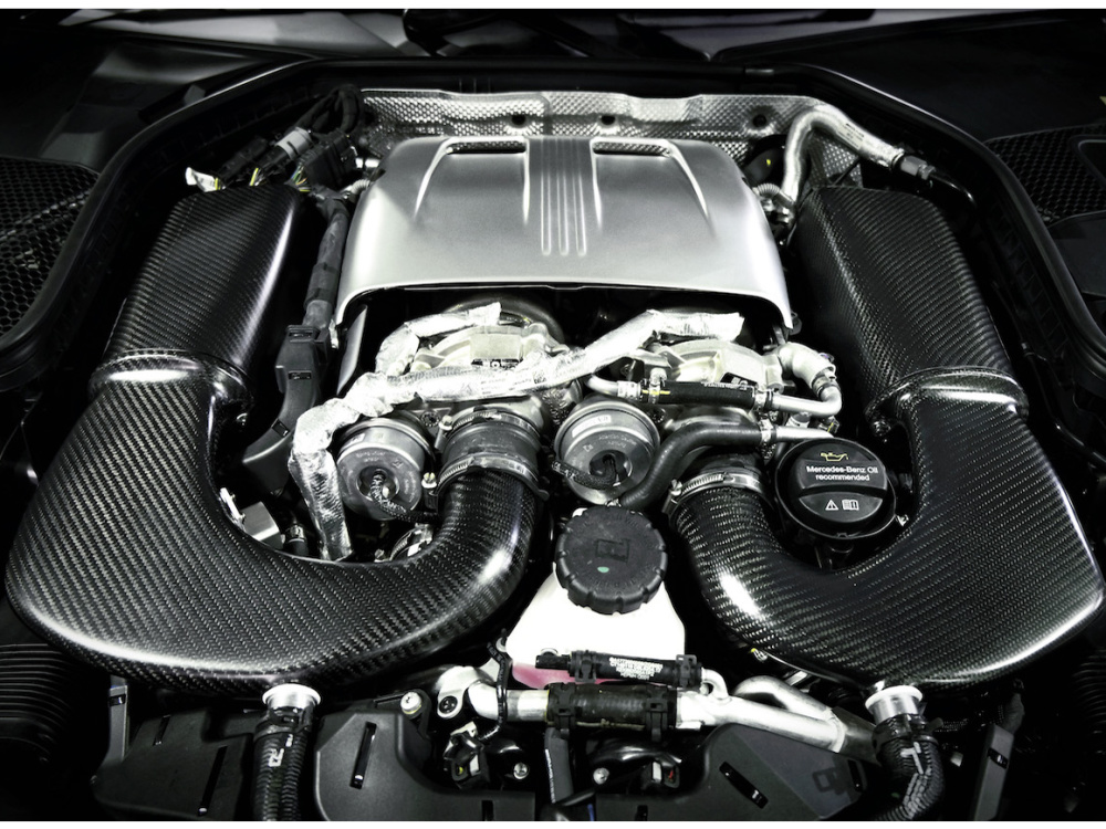Впускная система ARMASPEED (Carbon Fiber) для Mercedes-Benz C63/C63 S/GLC63 AMG 4.0L V8 Twin Turbo (M177 DE40 AL)