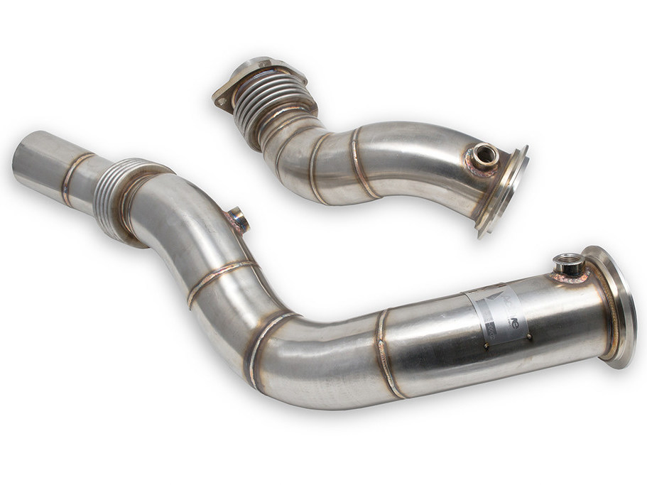 Даунпайпы Active Autowerke (downpipes) для BMW M3/M4 (F80/F82) S55