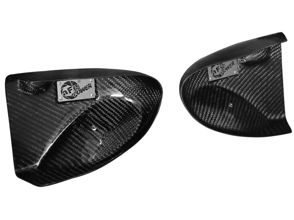 Воздухозаборники aFe Magnum FORCE (Carbon Fiber) Dynamic Air Scoops для BMW M5/M6 (F06/F10/F12/F13) 4.4L V8 (tt) S63