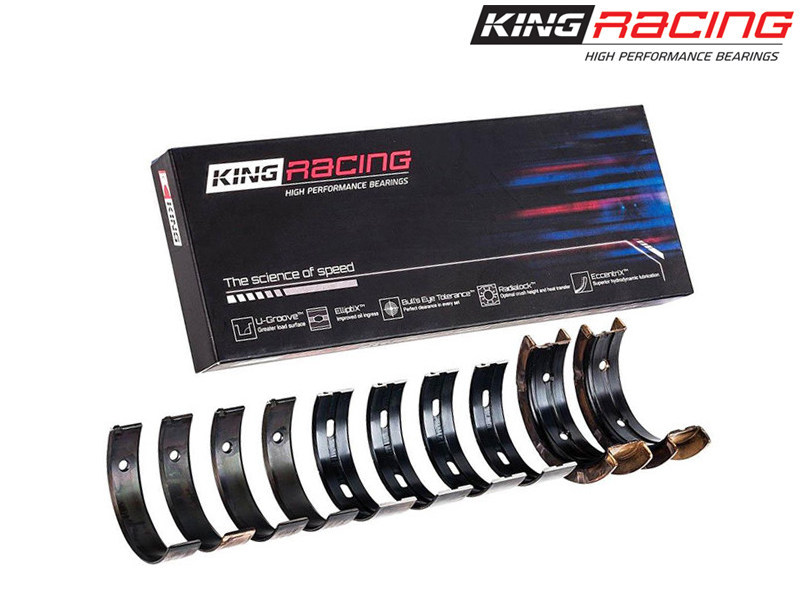 Коренные вкладыши King Racing XP Series Tri-Metal (STD / номинал) Nissan (VQ35HR / VQ37VHR) 3.5L/3.7L V6 MB4524XP-STD