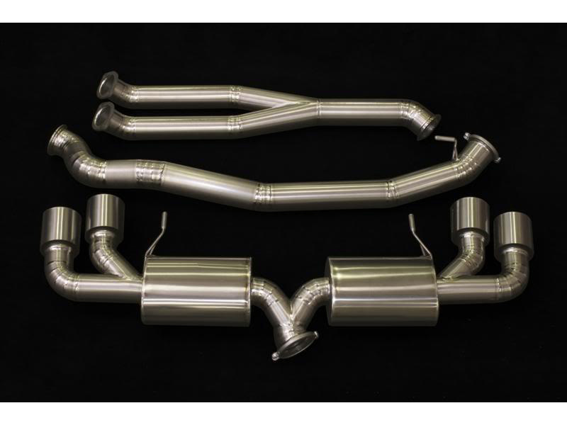 Задняя часть GReddy PE-Ti 94mm Exhaust для Nissan GT-R R35 (09+)