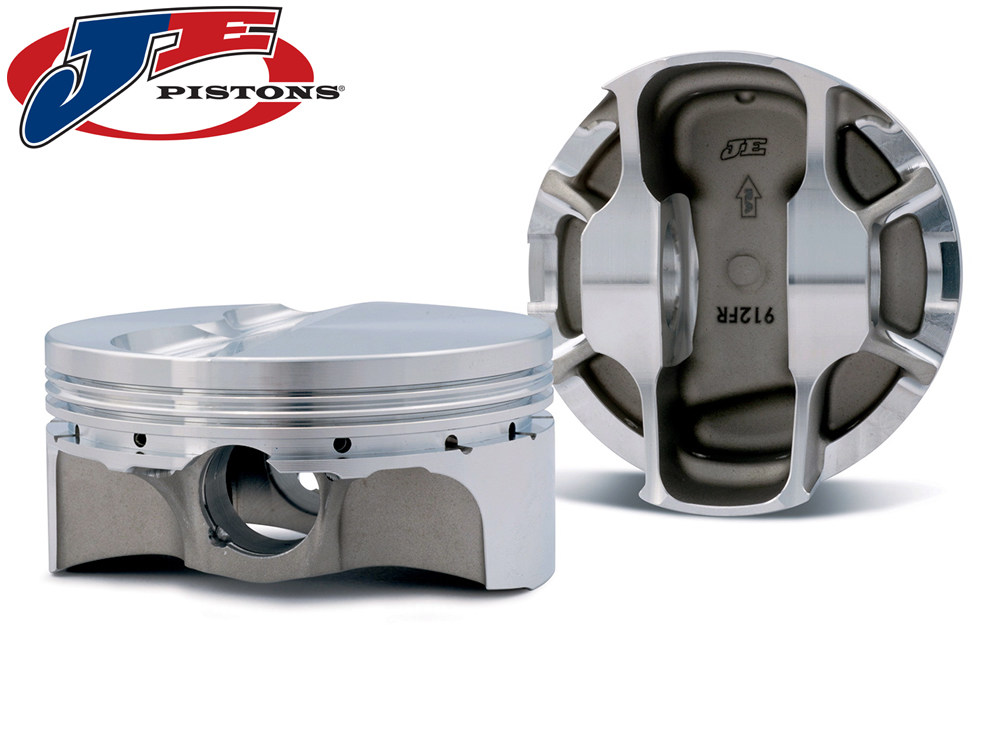 Кованые поршни JE Pistons FSR для OPEL (C20XE/C20LE/C20LET) L4-2.0L Turbo (87.50мм) CR-8.5:1 (PIN 21mm) 312429