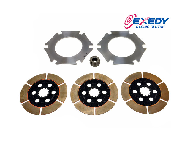 Диск сцепления Exedy Racing Triple Disc 24 Spline (Nissan) NSR300