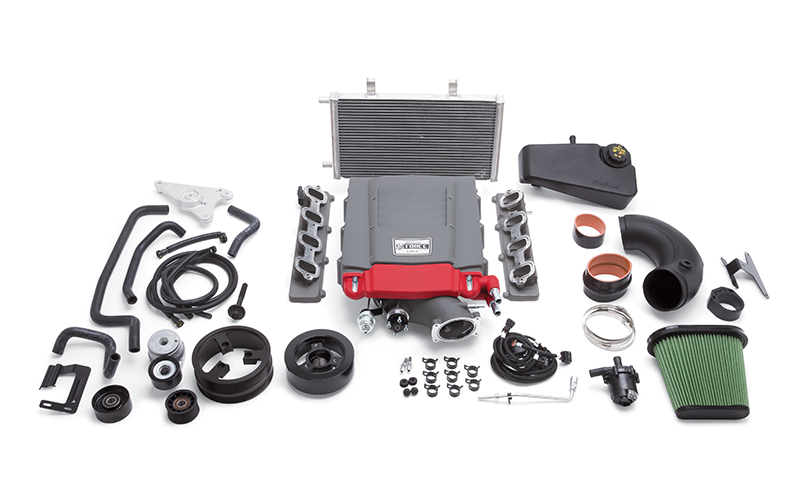 Компрессор Edelbrock E-Force Supercharger (Stage 3 - Pro-Tuner Systems) для Chevrolet Corvette Stingray (C7) 2014-17 V8-6.2L (LT1)
