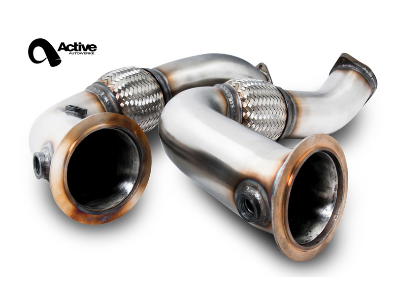 Даунпайпы Active Autowerke Signature Downpipes для BMW X5M и X6M (S63)