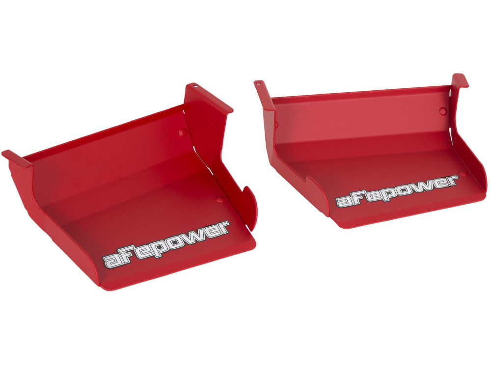 Воздухозаборники aFe Magnum FORCE (Matte Red) Dynamic Air Scoops для BMW 128i/135i/1M (E82/E88) L6-3.0L (N52/N54/N55)