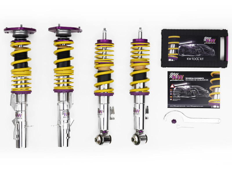 Винтовая подвеска KW Clubsport Coilover 2-Way (Top Mounts) Subaru Impreza / WRX (GD, GG, GGS) 2004-2007 35245804