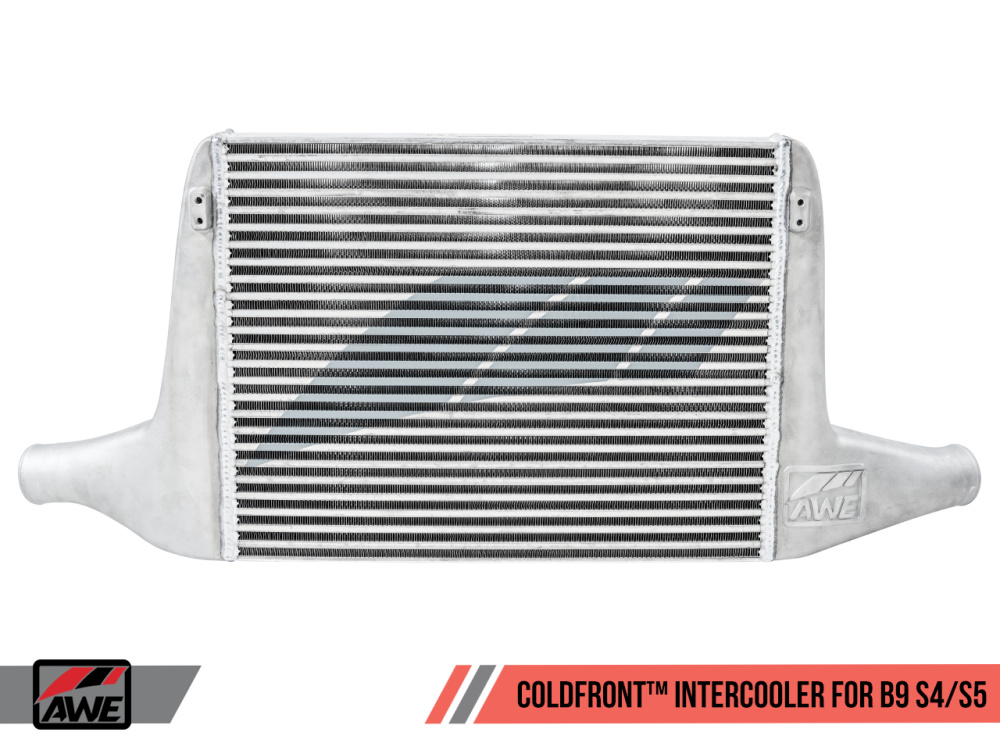 Интеркулер AWE ColdFront для Audi S4/S5 (B9) (8W/F5) 3.0L V6 Turbo (3.0 TFSI/EA839)
