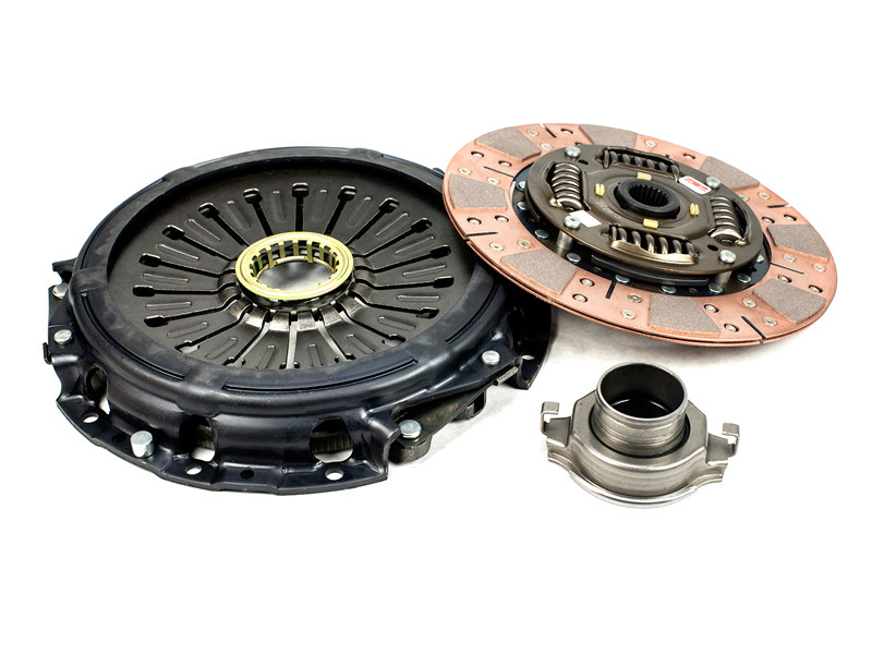 Сцепление Competition Clutch Stage 3 Segmented Ceramic - Street/Strip Series 2600 Mitsubishi 3000GT(1991-1999), Eclipse (1989-1992, 1993-1999) 2.0L FWD Turbo , (1996-2005) 2.4L, Dodge Stealth (1991-1996)