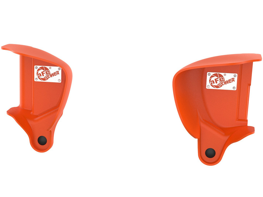 Воздухозаборники aFe Magnum FORCE (Orange) Dynamic Air Scoops для BMW M3/M4 (F80/F82) L6-3.0L (S55)