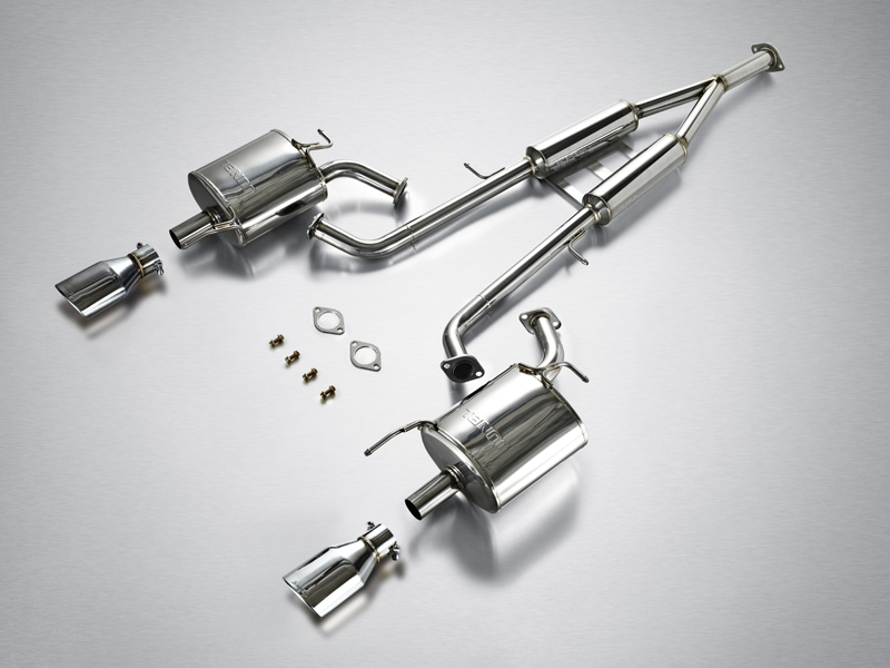 Выхлопная система JUN BL Twin Cat-back System для Infiniti M37 2010+