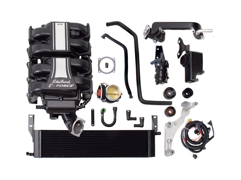 Компрессор Edelbrock E-Force Supercharger (Stage 3 - Pro-Tuner Systems) для Ford Mustang GT 4.6L (2005-2009)