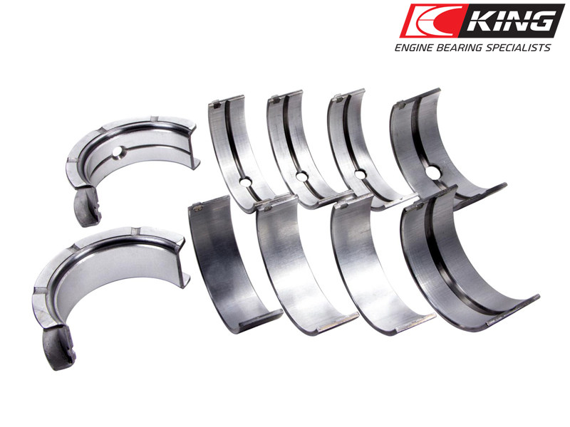 Коренные вкладыши King Bearings CP Series Tri-Metal (+0.25мм) GM Ecotec (L850) Gen1/Gen2 (L42,L61,LAP,LAF,LAT,LE5,LE9,LNF,LSJ) L4-2.0L/2.2L/2.4L MB5413CP-010
