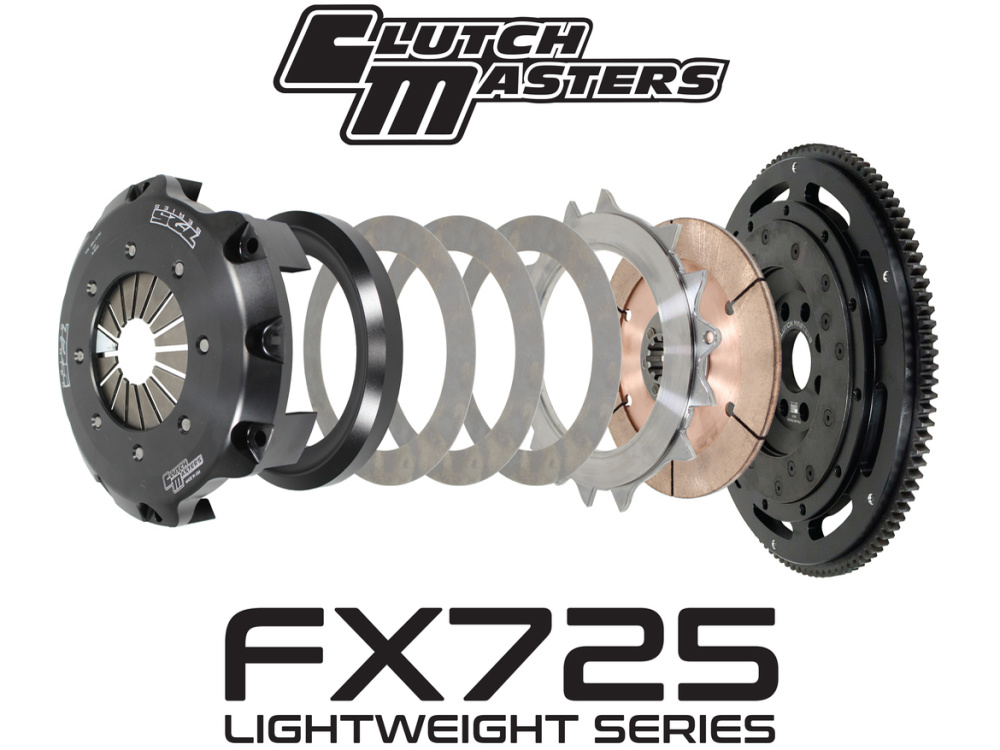 Однодисковое сцепление Clutch Masters 725 Series Custom Single (LIGHTWEIGHT) BMW Z3/Z3 M 1998-2002, 3-Series/M3 (E36/E46) 1992-2005, 5-Series (E39) 1992-2003 (E60) 2001-2005 5MT 2.5L/2.8L/3.0L/3.2L 03005-SD7R-A