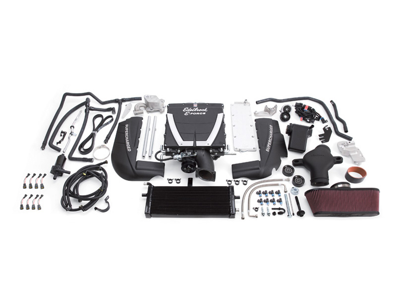 Компрессор Edelbrock E-Force Supercharger (Stage 3 - Pro-Tuner Systems) для Chevrolet Corvette Z06 (C6) 2006-13 V8-7.0L (LS7)