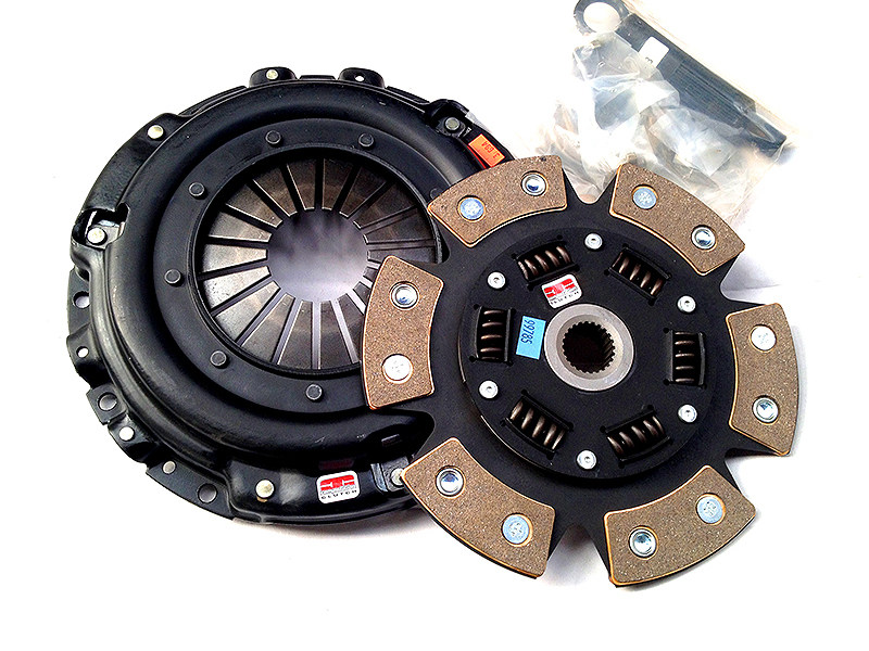 Сцепление Competition Clutch Stage 4 Ceramic демпферный 6-ти лепестковый керамический диск - Strip Series 1620 Mitsubishi Eclipse (1990-1992, 1995-1999, 2001-2003), Mitsubishi 3000gt (1993-1999), Dodge Stealth (1991-1994), Plymouth Laser (1990-1994)