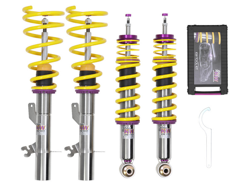Винтовая подвеска KW Variant 3 Coilover V3 BMW 1-Series (E81/E82/E87) Hatchback/Coupe (All engines) 35220039