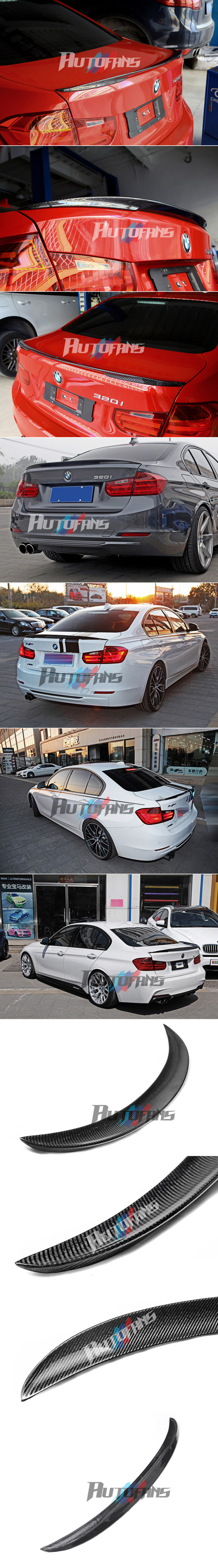 Карбоновый лип-спойлер Performance BMW F30 320i 328i 335i